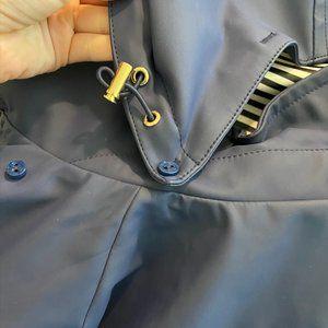 kate spade Jackets & Coats - Kate Spade Navy Blue Rain Jacket